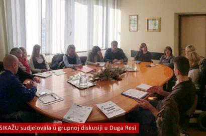 """Sastanak fokus grupe projekta """"Gradski program za mlade Grada Duge Rese"""""""